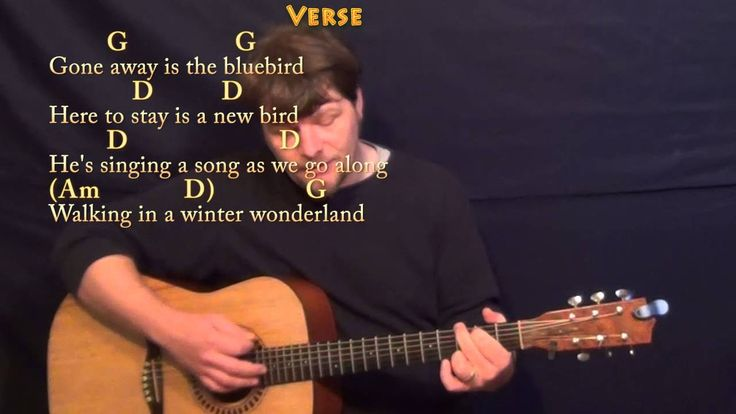 Winter Wonderland (Christmas) Strum Guitar Cover Lesson in G with Chords/Lyrics - YouTube