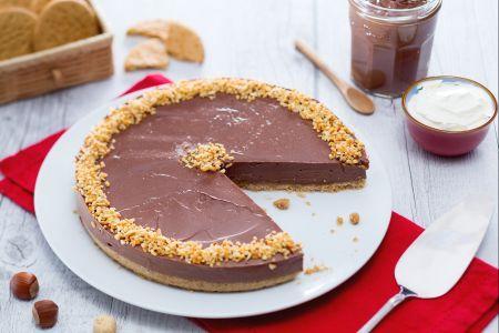 Cheesecake alla Nutella