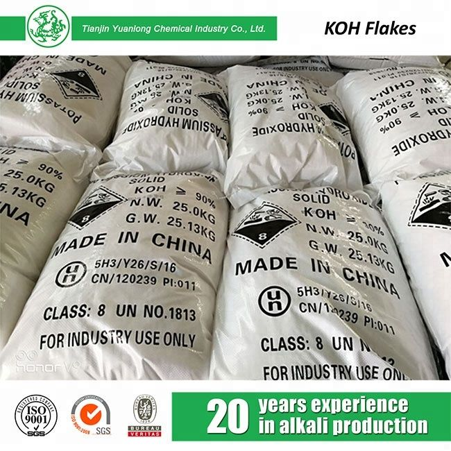 High Quality Potassium Hydroxide Price 90 Flakes 1310 58 3 Msds Koh View Msds Koh Brg Product Details From Tianjin Yuanlong Chemical Industry Co Ltd On Al Chemical Industry Chemical High Quality