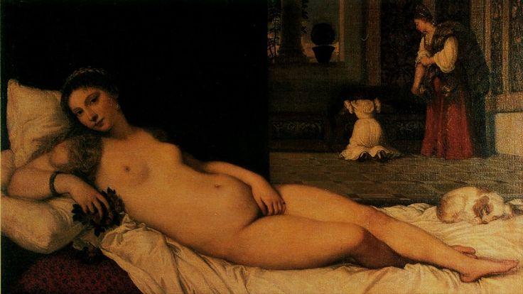 Titien, VВnus d'Urbin Venus d' Urbin
