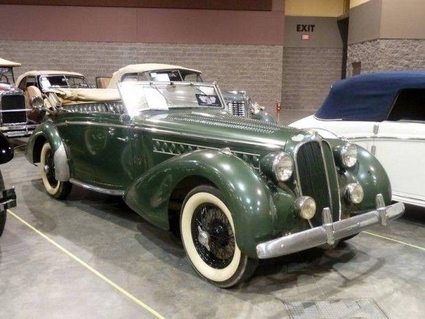 1939 Delahaye 135 M Drophead Coupe, Body by Chapron