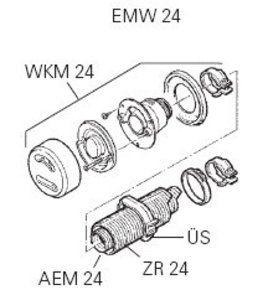 Truma EMW 24 Wall Mount Flue Kit for E2400 Cabin Heater/Marine-2.4kw