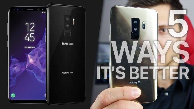 Samsung Galaxy S9  iPhone X 5 Ways It Will Dominate |