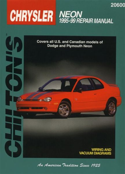 Dodge& Plymouth Neon Chilton Manual 1995-1999: Total Car Care is the most complete step-by-step automotive… #CarParts #AutoParts #TruckParts