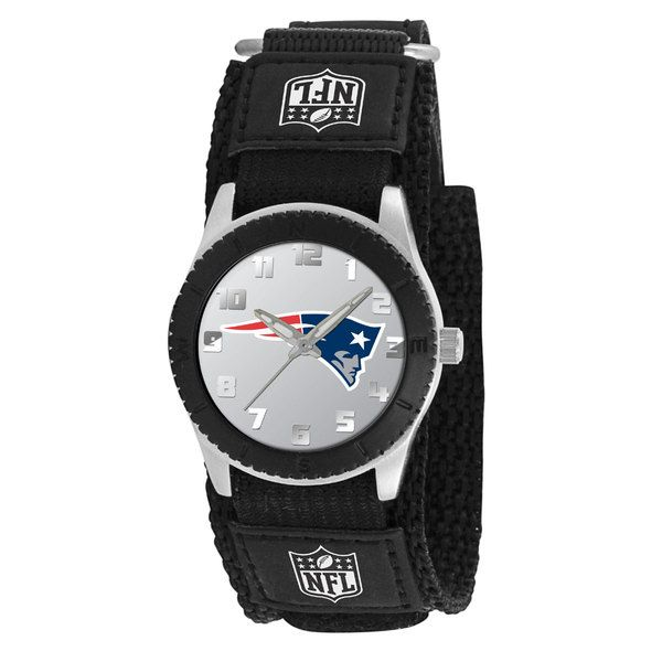 Game Time Youth NFL Rookie Black Watch New England Patriots
