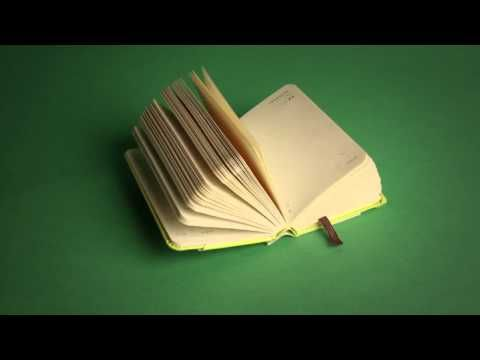 This stop motion video has been made by Dutch visual artist Rogier Wieland for Moleskine. These compact and colourful planners are the smallest in the Moleskine catalogue so far. They are about the same size as a pack of tissues.