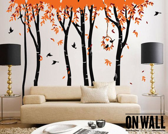 Awesome The Best Images About Living Room Decals On Pinterest Trees