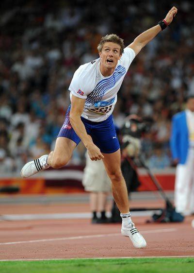 Andreas Thorkildsen. Norwegian javelin thrower. Won ... Andreas Thorkildsen