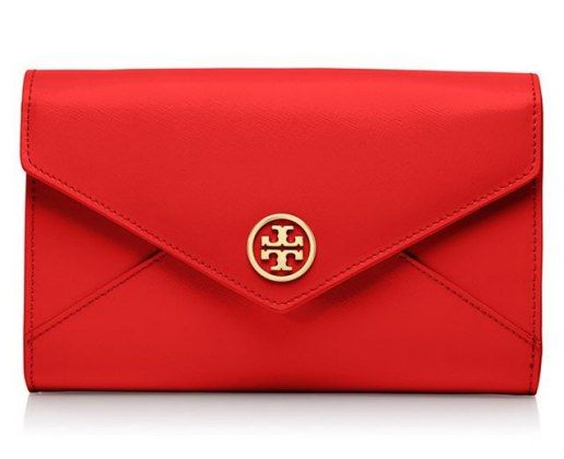 This red hot clutch would look great next to your favorite LBD.