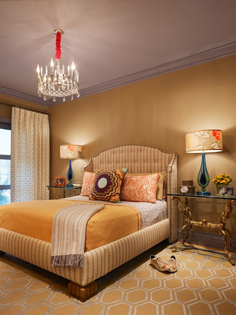 """Jay Jeffers bedroom as seen in House of Fifty, """"How to Build an Eclectic Space"""" pg. 52"""