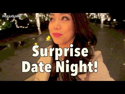 EPIC SURPRISE DATE NIGHT!!! - July 23, 2014 - itsJudysLife Daily Vlog