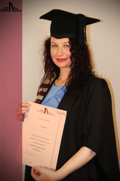 One of our lovely Academy graduates.