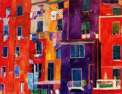 Portovenere Art Print