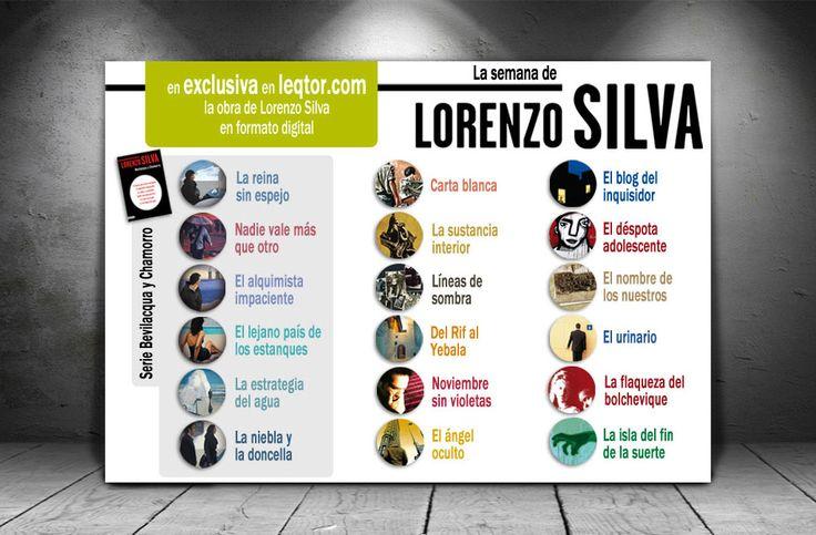 Diseño de banner ebooks Lorenzo Silva | Dolphin Tecnologías