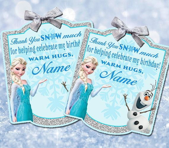 It's just a photo of Ridiculous Frozen Party Bag Labels