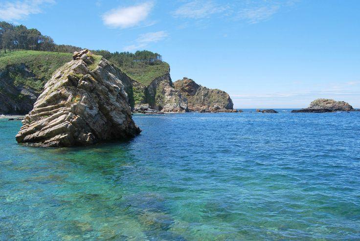 Playa de Pormenande -  Guía para visitar la costa occidental de Asturias (2)   The Wandering S http://thewanderingsblog.com/costa-occidental-asturias-2/