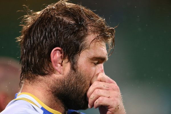 Ben McCalman Photos Photos - Ben McCalman of the Force looks on after being defeated during the round 10 Super Rugby match between the Force and the Bulls at nib Stadium on April 29, 2016 in Perth, Australia. - Super Rugby Rd 10 - Force v Bulls