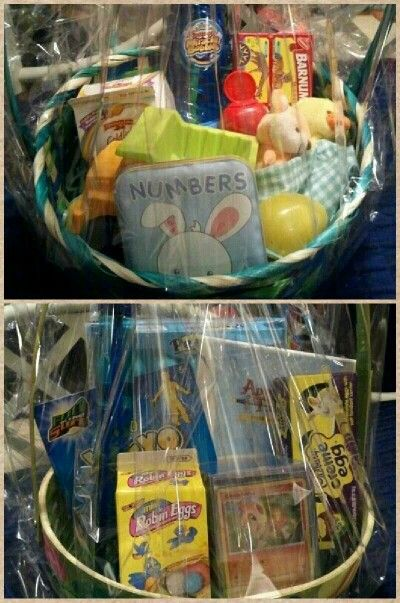 47 best easter basket ideas images on pinterest baby toddler easter baskets for my 1 and 9 year old boys negle