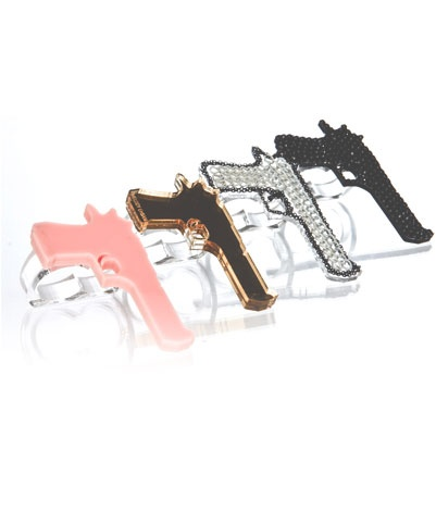 pow gun ring: Fingers Rings, Pow Guns, Clothing Accessories, Guns Rings Boom, Pow Rings, Ehsani Rings, Bags Diamonds Accessories, Bags Accessories, Pink Guns Accessories