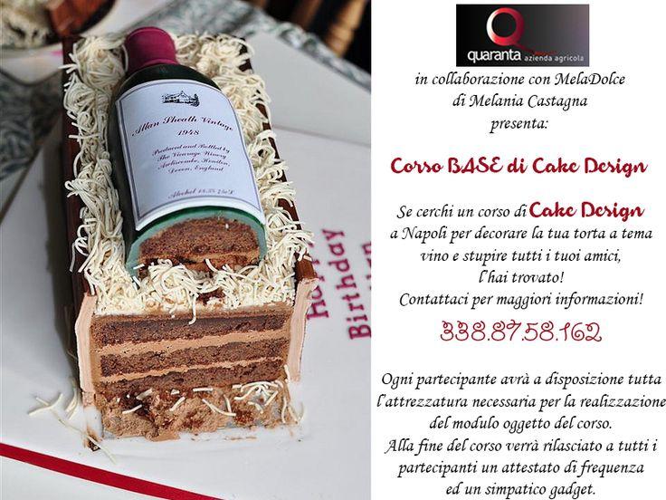 Corso di #cakedesign 16 - 17 -18 Marzo 2015 - Azienda Agricola Quaranta (Napoli)