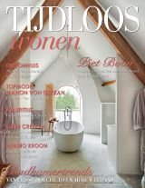 Tijdloos Wonen nr 30, ed. February 2014 On the cover 'The Summer House Room' from our B&B 'The Little Monastery'