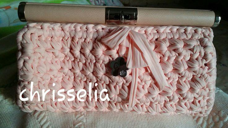 Crochet purse /star stitch front side