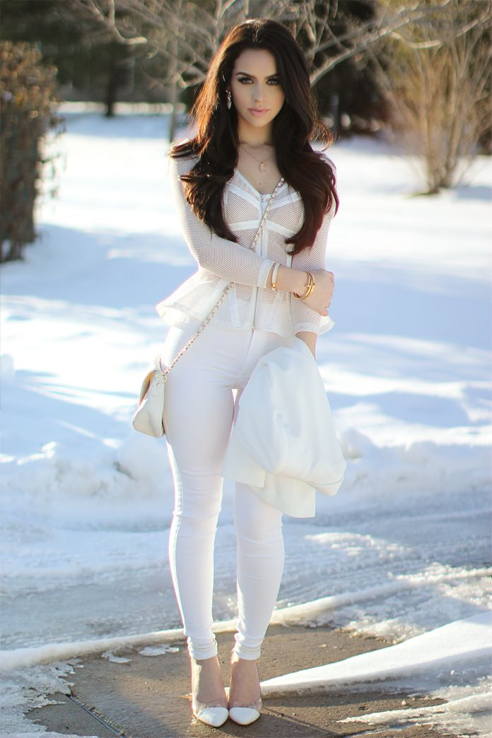 50 Fashionable All White Outfits for Any Season | Trend2Wear