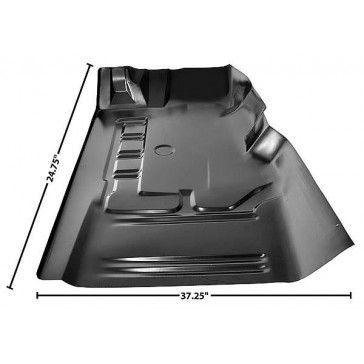 Front Short Floor Pan, 1971-1973, LH, Dynacorn