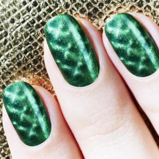 106 best poison ivy costume images on pinterest halloween fancy magnetic nail polish poison ivy nailsemerald prinsesfo Image collections