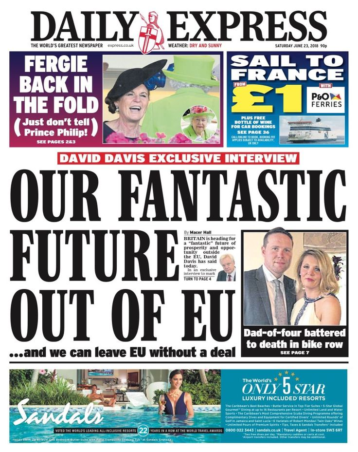 Daily Express thinks we can leave without any deal