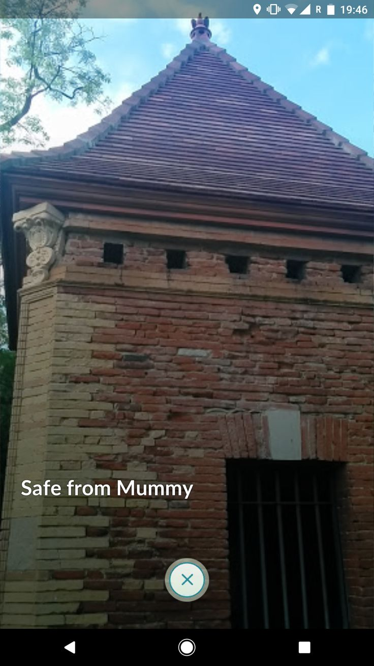 [Question] Does anybody in the Toulouse France area know why this pokestop is named 'Safe from Mummy'?
