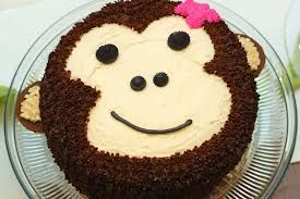 girl monkey birthday party - Google Search