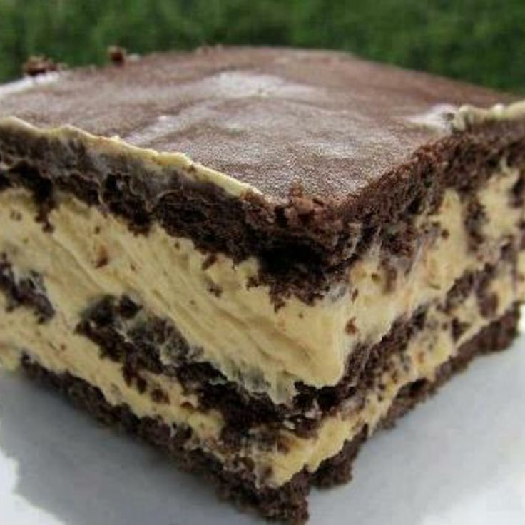 Peanut Butter Chocolate Eclair Cake Pampered Chef