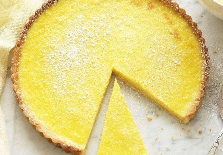 fase finale crostata al limone