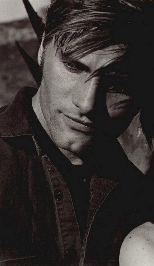 Viggo Mortensen. I'll always love him as Aragorn too...(: