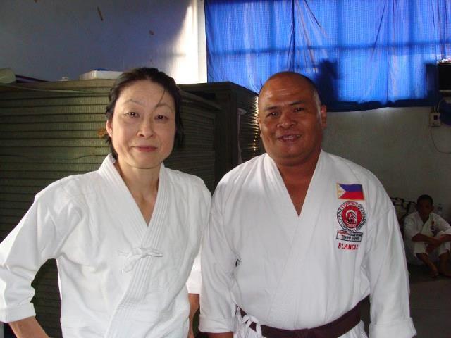 aikido seminar /PJF phil. Judo federation manila / yoko okamoto shihan
