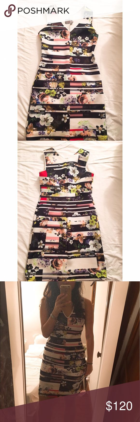 Clover Canyon print neoprene dress sz L Clover Canyon print neoprene dress sz L- worn only twice. No stains or damage. Clover Canyon Dresses Mini