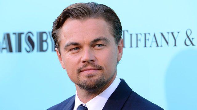 American actor Leonardo DiCaprio...