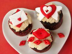 Ideas de toppers para San Valentín en Material de decoración para cupcakes y magdalenas