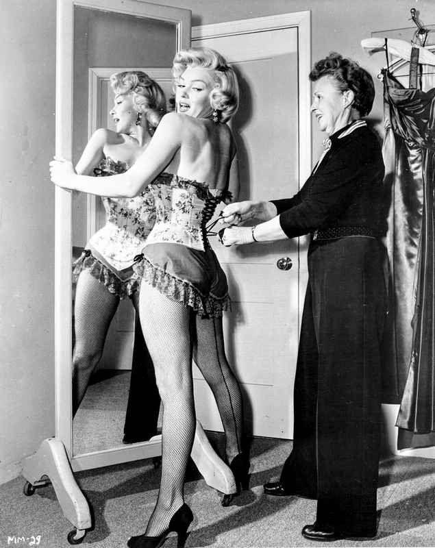 Marilyn Monroe In Corset Movie Scene From Bus Stop -6745