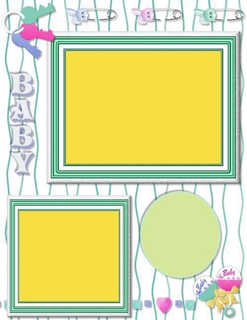 354 Best Baby Scrapbook Images On Pinterest Scrapbooking Ideas