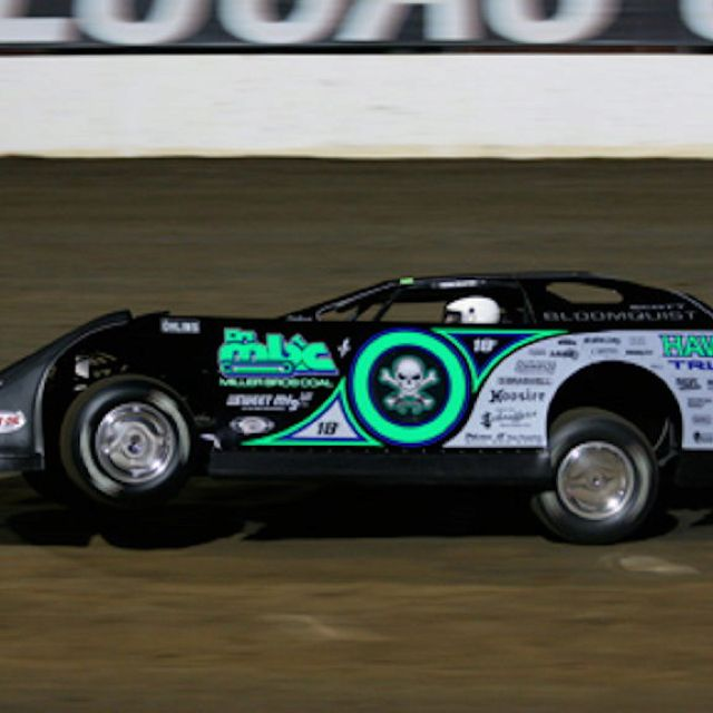 New And Late Model Images On Pinterest: Scott Bloomquist's Late Model