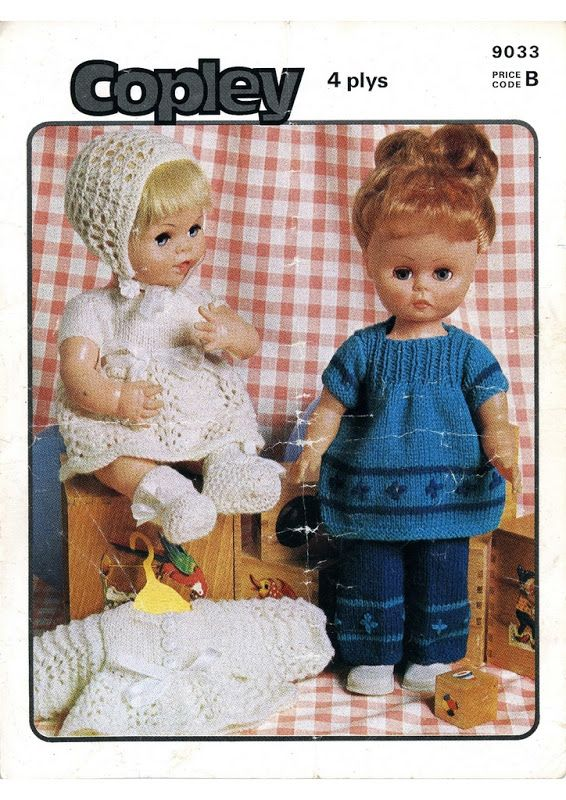 Free Knitting Patterns For Our Generation Dolls : The 2661 best images about DOLL - 18