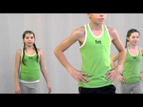 Pohybové skladby pro děti - Kolíbanka - YouTube