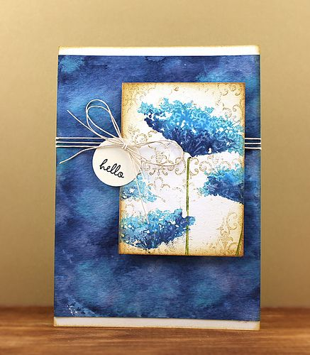 3 Cards by Jill Foster made with Inchie Arts + Distress Paints + Penny Black | All Stamps by Penny Black (3939K Queen Anne's Lace, 3365K Casual, 2670H Wings, 40-198 Every Happiness, 40-204 Fleur De Lys), Distress Paint Colors Broken China, Salty Ocean, Chipped Sapphire, Peeled Paint, Mowed Lawn, Seedless Preserves, Picked Raspberry, Mustard Seed, Wild Honey, Spiced Marmalade, Barn Door, Fired Brick