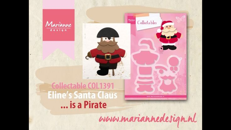 How to make a Pirate of the COL1391 Santa Claus by Eline
