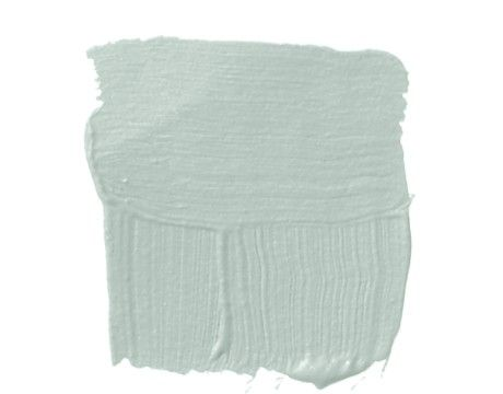 Benjamin Moore's Palladian Blue - would be pretty in a kitchen with dark cabinets and white bead board