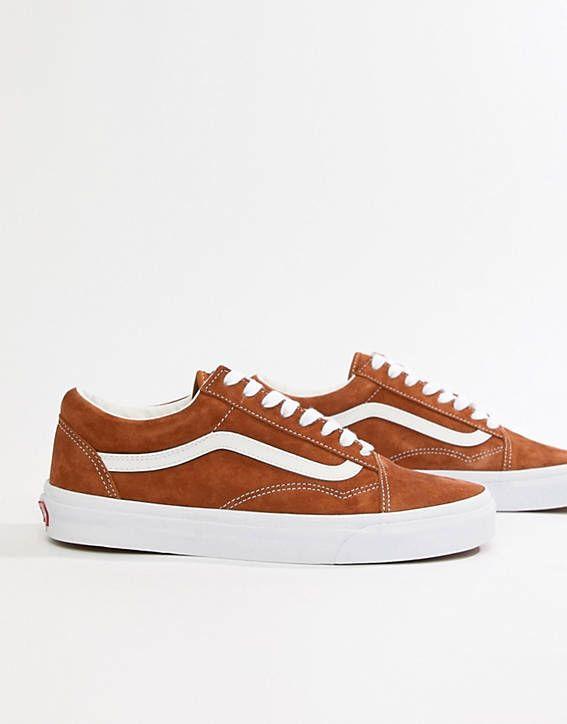 a1ad6acc34 Vans Old Skool Sneakers In Brown VN0A38G1U5K1
