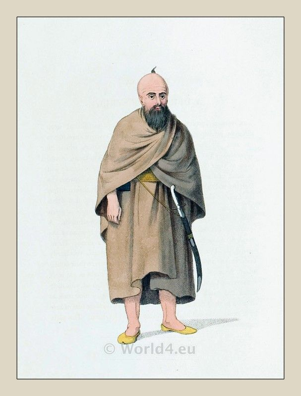 Dervish Of Syria Ottoman Empire Historical Clothing The