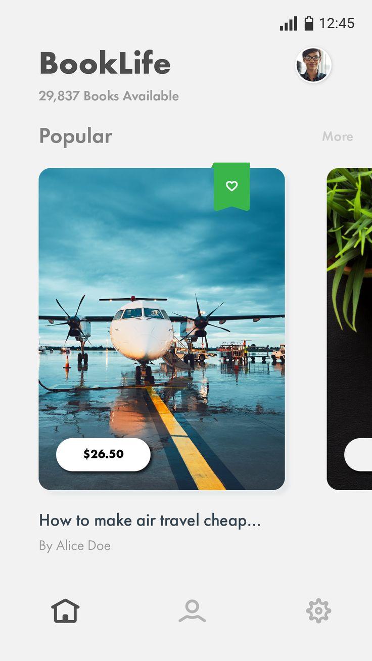 Book App Concept on Behance